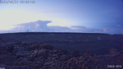 Kilauea Volcano Sends Ash Plume 30,000 Feet Into The Air