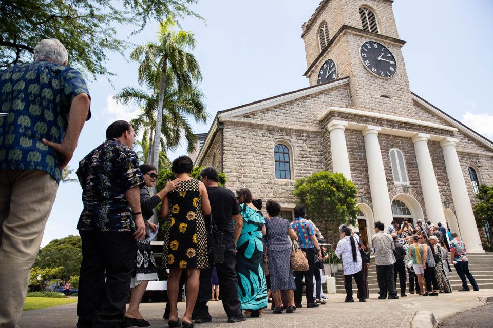 SLIDESHOW: Hawaii Bids A Final Aloha To Sen. Daniel Akaka