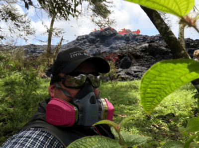 What It's Like Spending Three Days Watching A Volcano