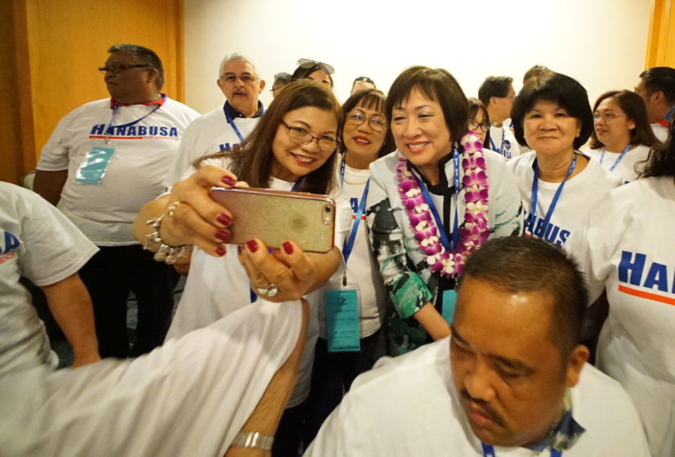 Hawaii's Future Is At Stake, Hanabusa Tells State Democratic Convention