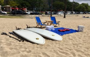 These Blue Beach Chairs Are Riling The Ala Moana Regulars