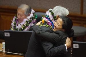 Slideshow: The Long Goodbyes As Legislature Adjourns