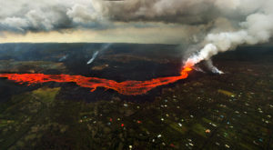 Kilauea Unleashes More Small Blasts, Snaking Lava