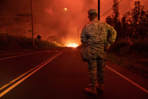 Lava Burns Two Buildings At Geothermal Plant