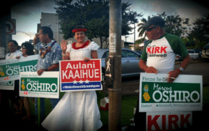 Chad Blair: She's Back! Hawaii's Most Notorious Candidate Returns
