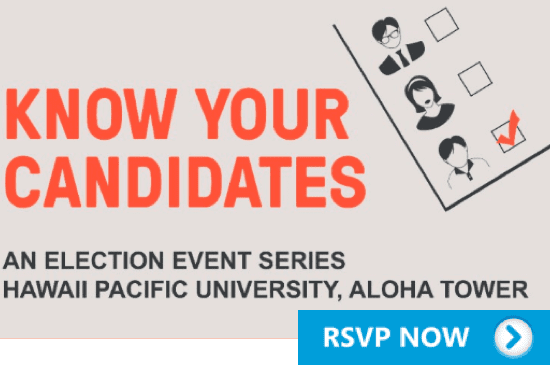 PSA Promo – Know Your Candidates RSVP