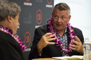 L'Heureux Makes His Case As Series Of Candidate Events Kicks Off