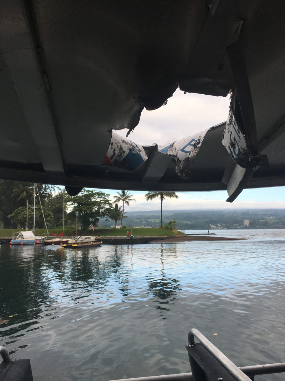 Lava Flies Through Roof Of Tour Boat, Injuring 23