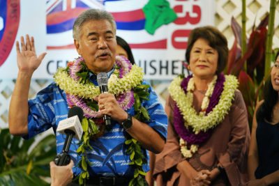 Inside Ige's Political Turnaround — And How Hanabusa Helped Him
