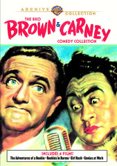 RKO Brown & Carney Collection (The Adventures of a Rookie / Rookies in Burma / Girl Rush / Genius at Work) - Warner Archive