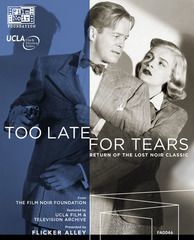 Too Late for Tears (Blu-Ray / DVD Combo)