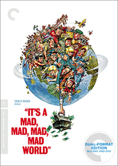 It's a Mad, Mad, Mad, Mad World (Blu-Ray / DVD Combo) - Criterion Collection