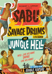 Sabu Double Feature (Savage Drums / Jungle Hell)