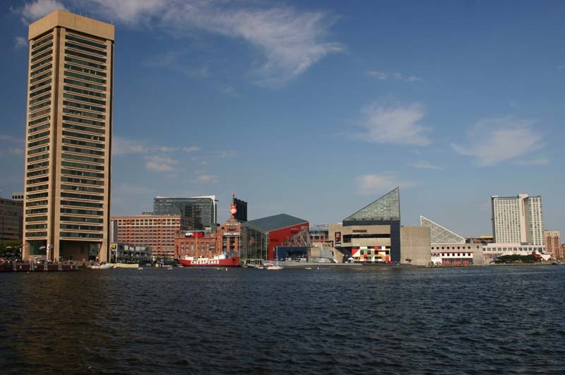 Public domain baltimore inner harbor