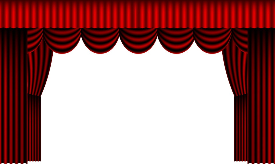 Public domain pixabay theatre curtain