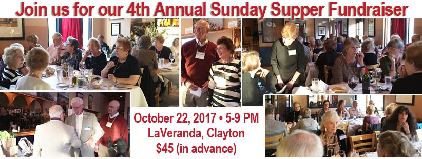 Sunday Supper Fundraiser Collage