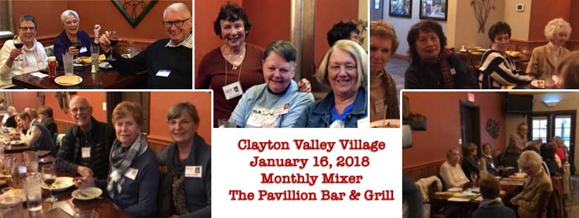 January 2018 Monthly Mixer