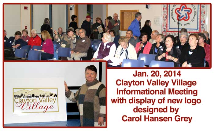 2014 Informational Meeting of Clayton Valley Village