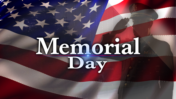 Memorial Day - CVV will be closed picture