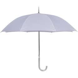 Cloak Auto Open White Wedding Umbrellas