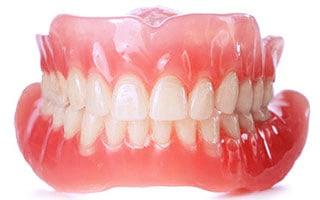 Full set of dentures