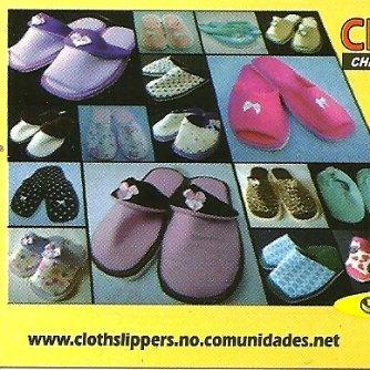 503c94b7ffe44d Cloth Slippers Chinelos De Quarto E Pantufas Artesanais Email & ...