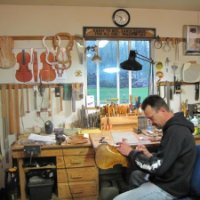 Image of Rob Braun , Luthier