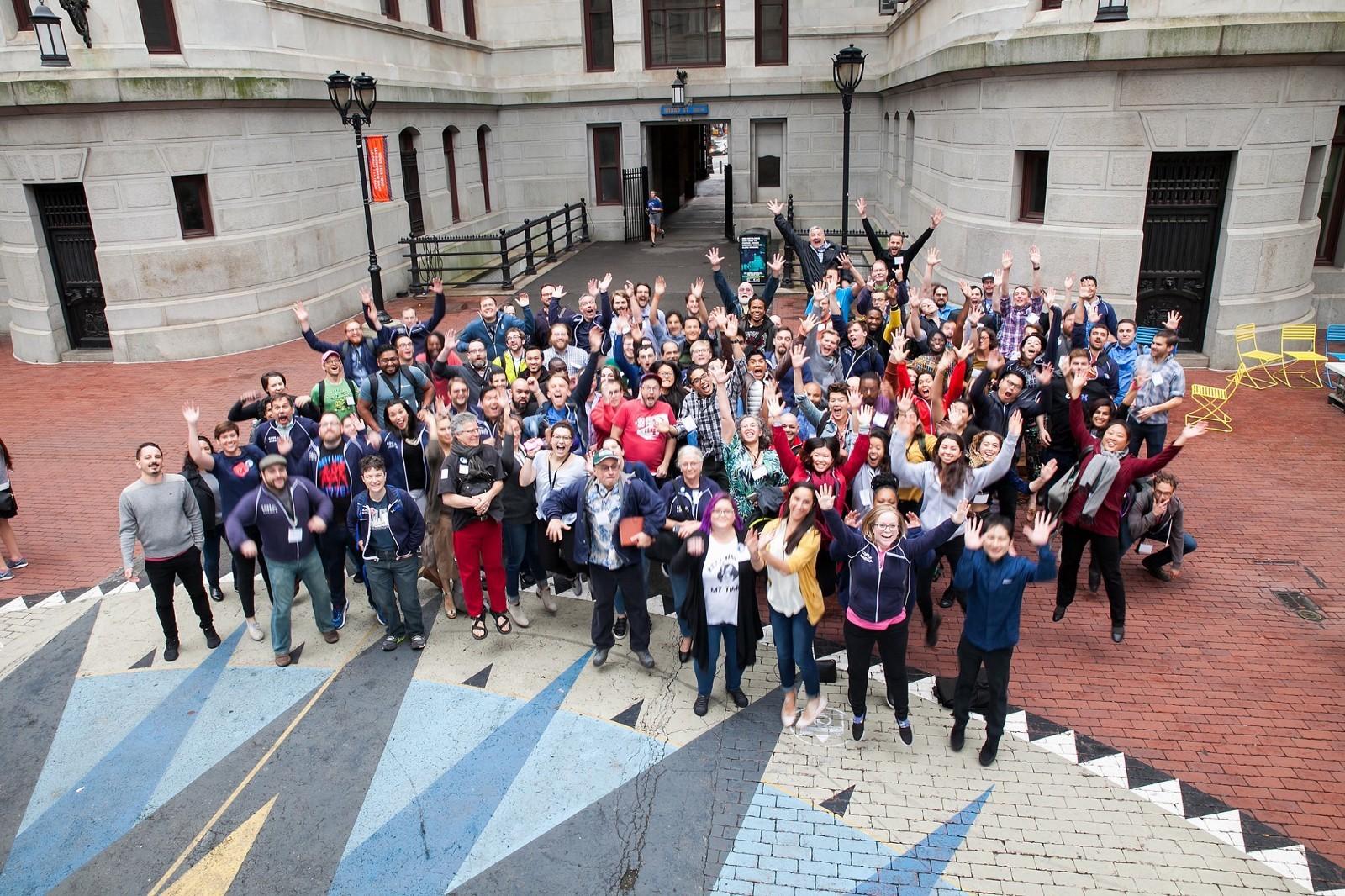 <p>Code for America Brigades gathered at Brigade Congress last fall</p>