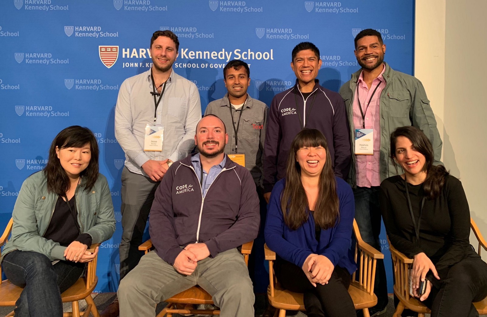 <p>The 2018 Community Fellows (minus <a href=