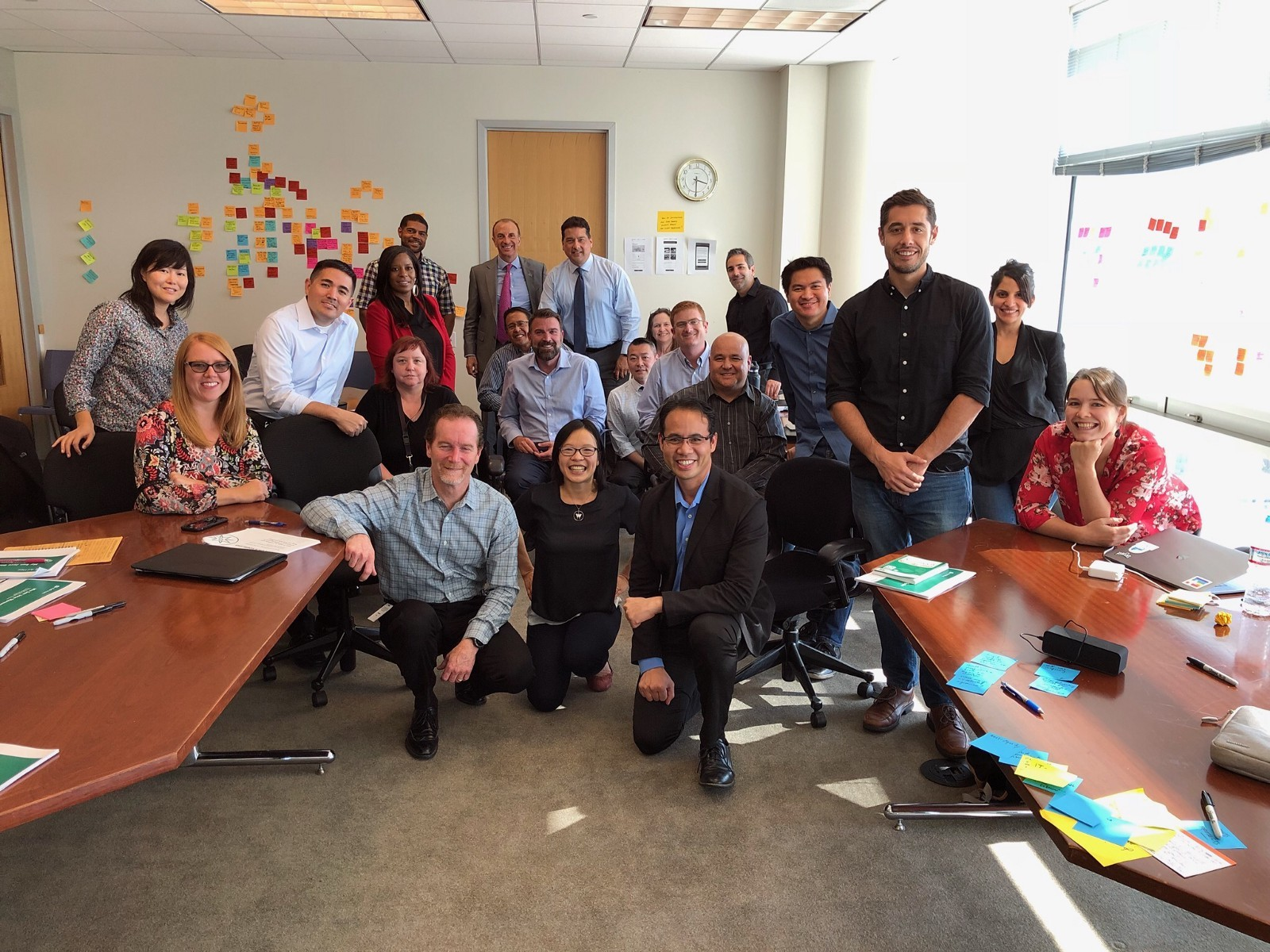 <p>All the staff members involved with running the My San Jose app. We might even be missing a few people!</p>