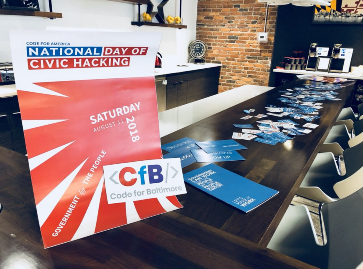 <p>Every year, Brigades and other groups across the country gather for a day of action on National Day of Civic Hacking</p>