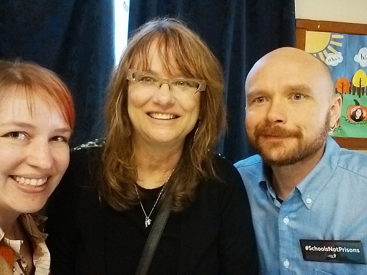 <p>What kind of geeks ask for a selfie with Prop 47 expert Karen Flynn from the Sacramento Public Defender's office? Code for America geeks.</p>