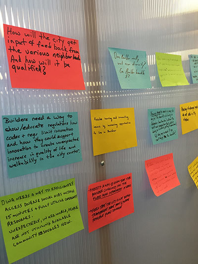 <p>Responses from citizens to the post-it exercise.</p>