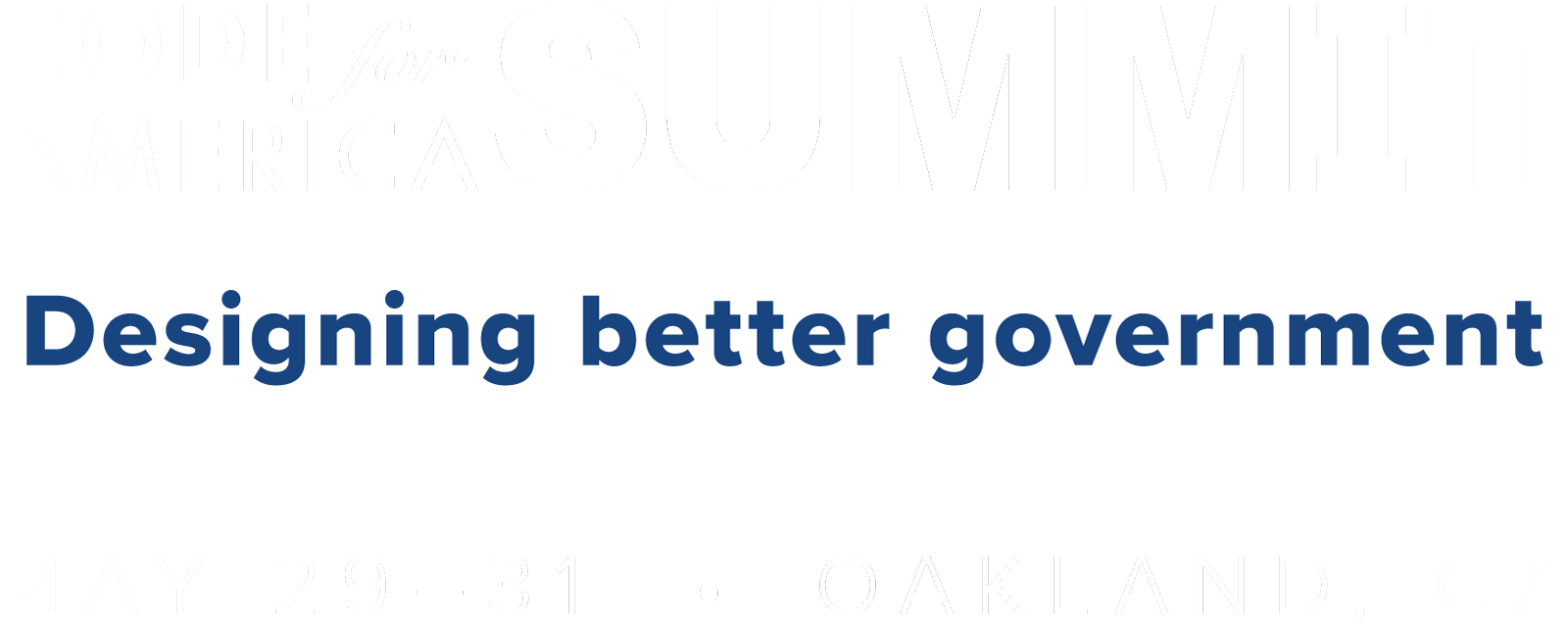Code for America Summit 2019 - Code for America