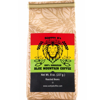 Scotty D Coffee Blue Moutain Coffee