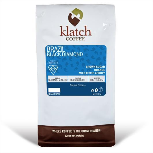 Klatch Coffee Brazil Black Diamond