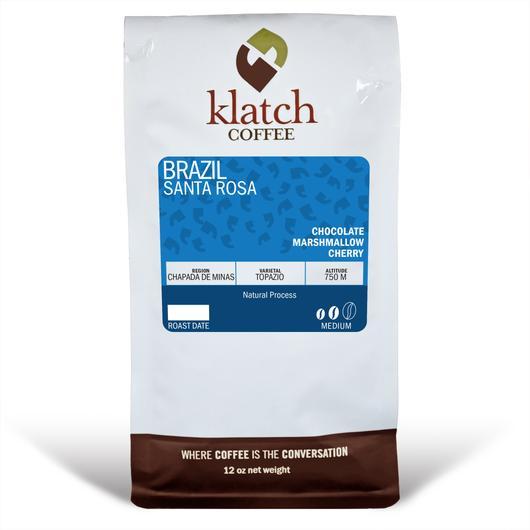 Klatch Coffee Brazil Santa Rosa