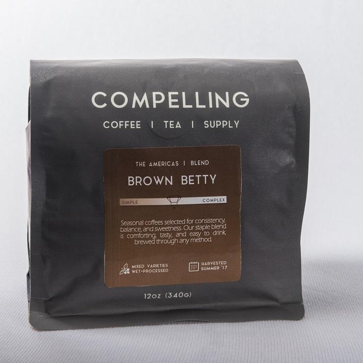 Compelling Coffee Brown Betty Seasonal Blend