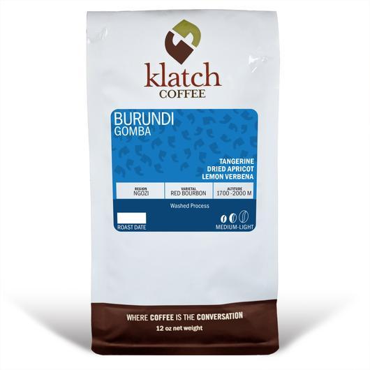 Klatch Coffee Burundi Gomba