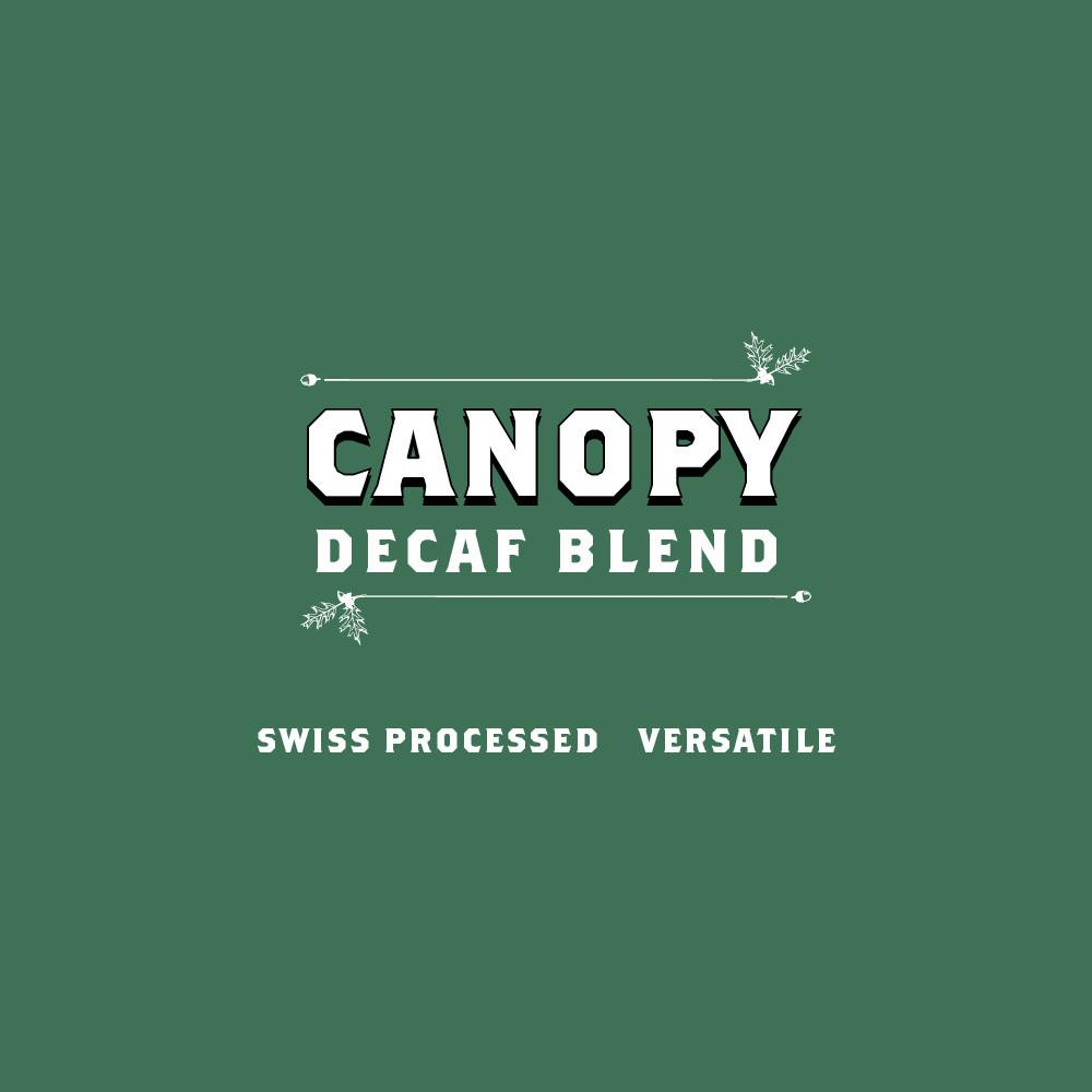 Black Oak Coffee Canopy Decaf Blend