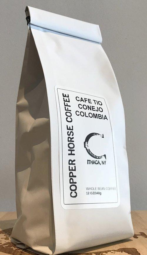 Copper Horse Coffee Colombia Cafe Tio Conejo