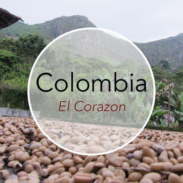 Copper Door Coffee Roasters Colombia El Corazon