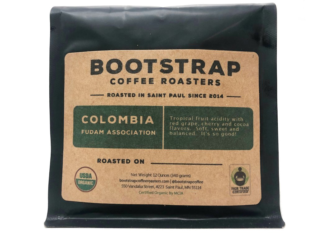 Bootstrap Coffee Roasters Colombia FUDAM