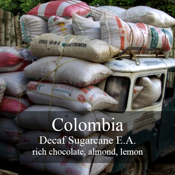 Contrast Coffee Colombia Huila Sugarcane Decaf
