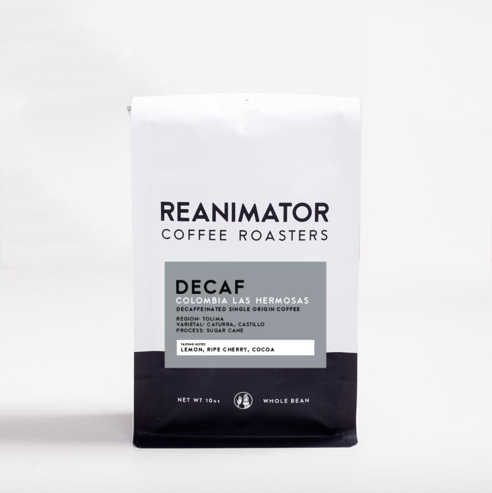 ReAnimator Coffee Colombia Las Hermosas Sugarcane (EA) Decaf