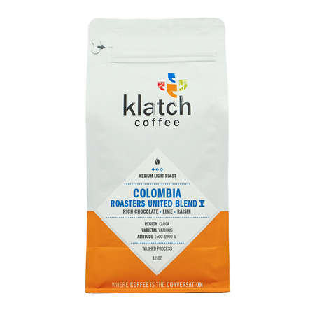 Klatch Coffee Colombia Roasters United Blend V