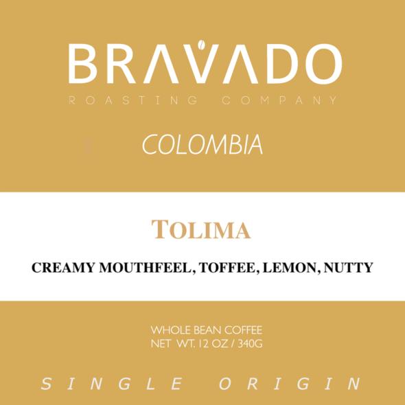 Bravado Roasting Company Colombia Tolima