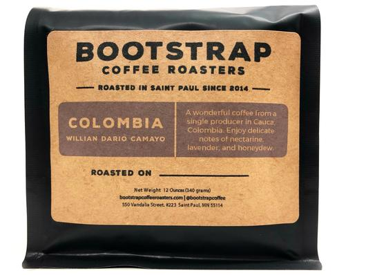 Bootstrap Coffee Roasters Colombia Willian Dario Camayo