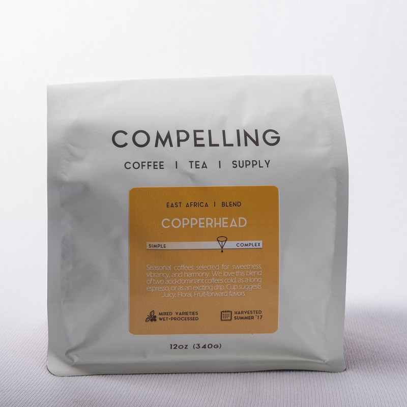 Compelling Coffee Copperhead Seasonal Blend