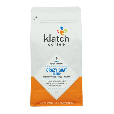 Klatch Coffee Crazy Goat Blend